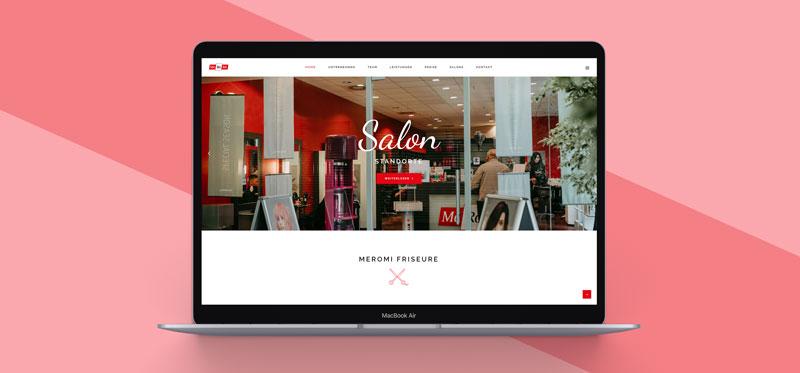 Webseite Meromi